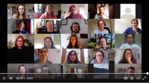 Zoom image from online meeting with Shelter
